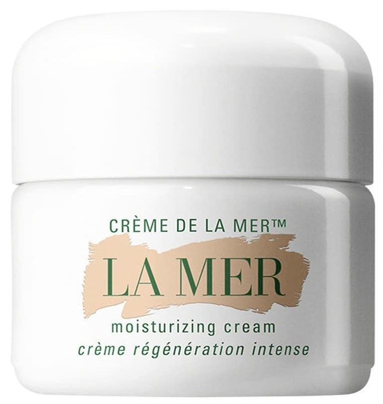 The cream in its white container