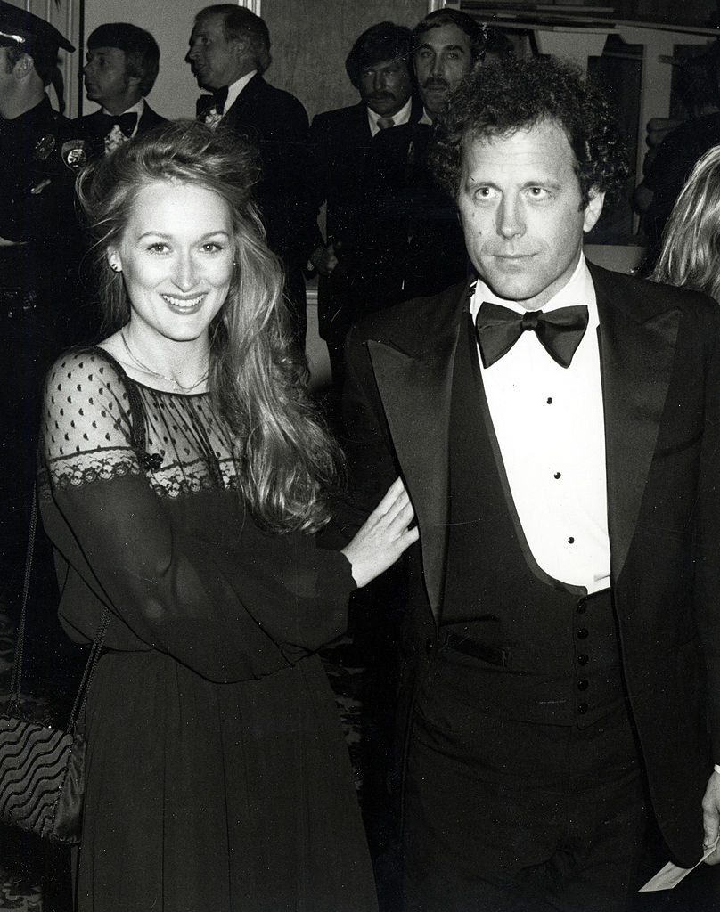 With her husband in the 70s