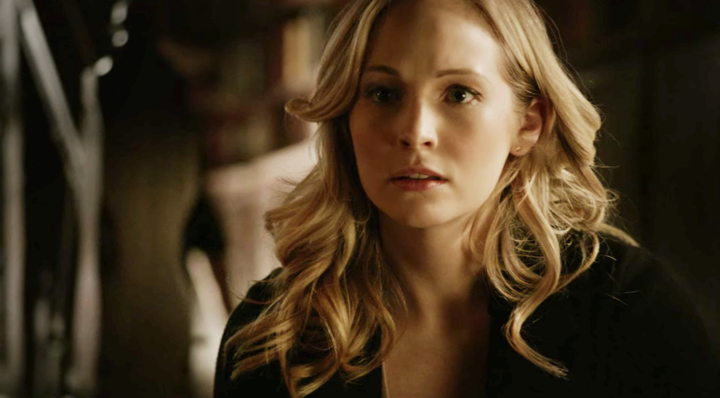 """Candice King as Caroline Forbes on """"The Vampire Diaries"""""""