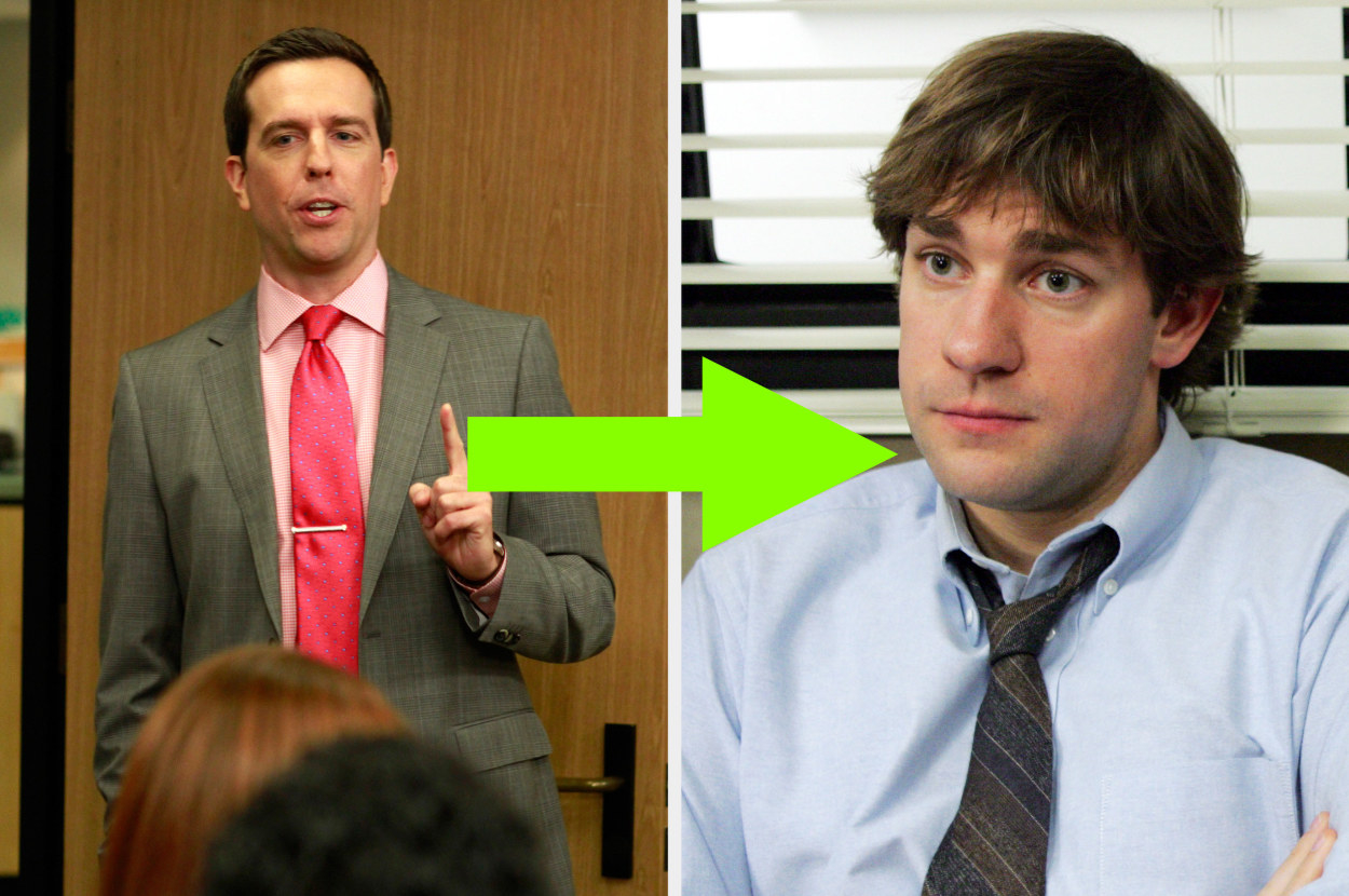 an arrow from Andy to Jim