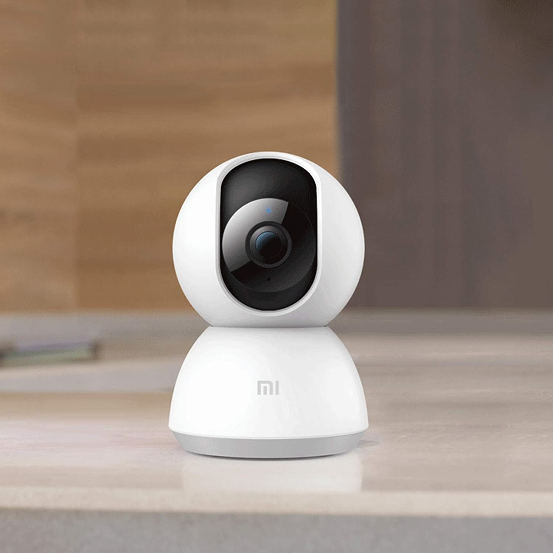 A CCTV camera on a table