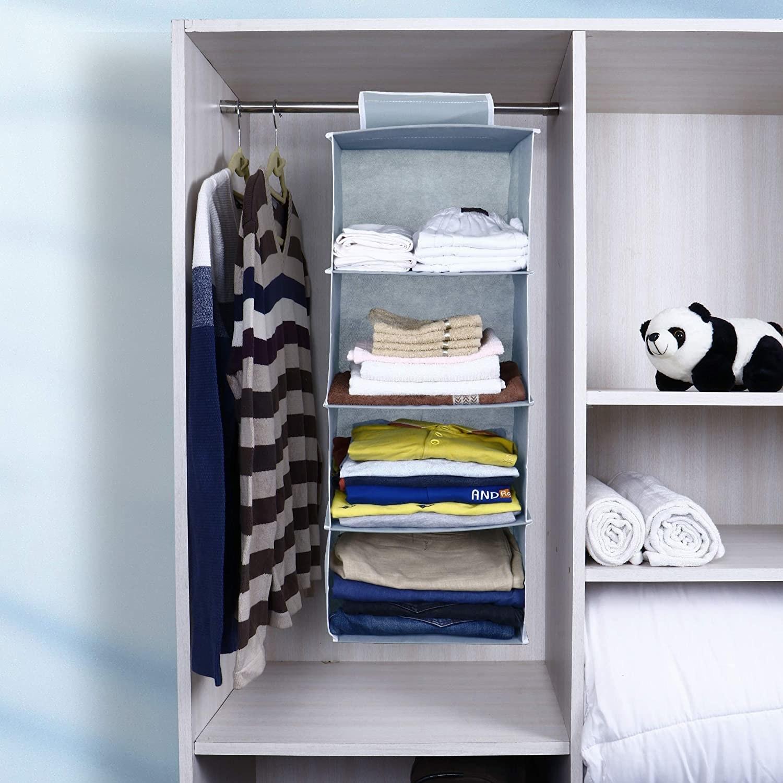 A wardrobe organiser