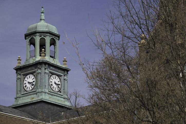 Clocktower on Towson University campus