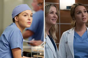 Jo and Arizona from Grey's Anatomy