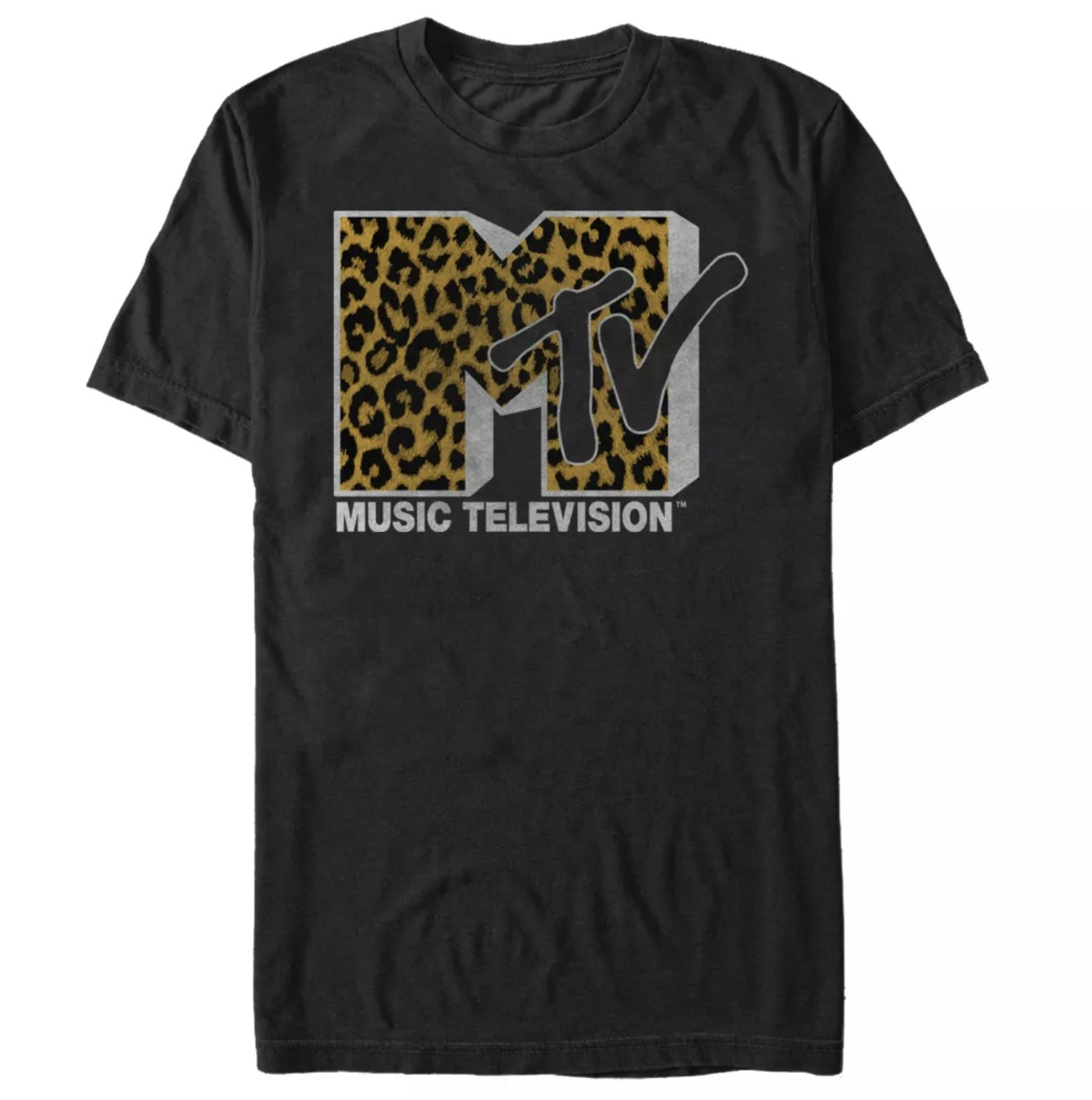 The black MTV shirt