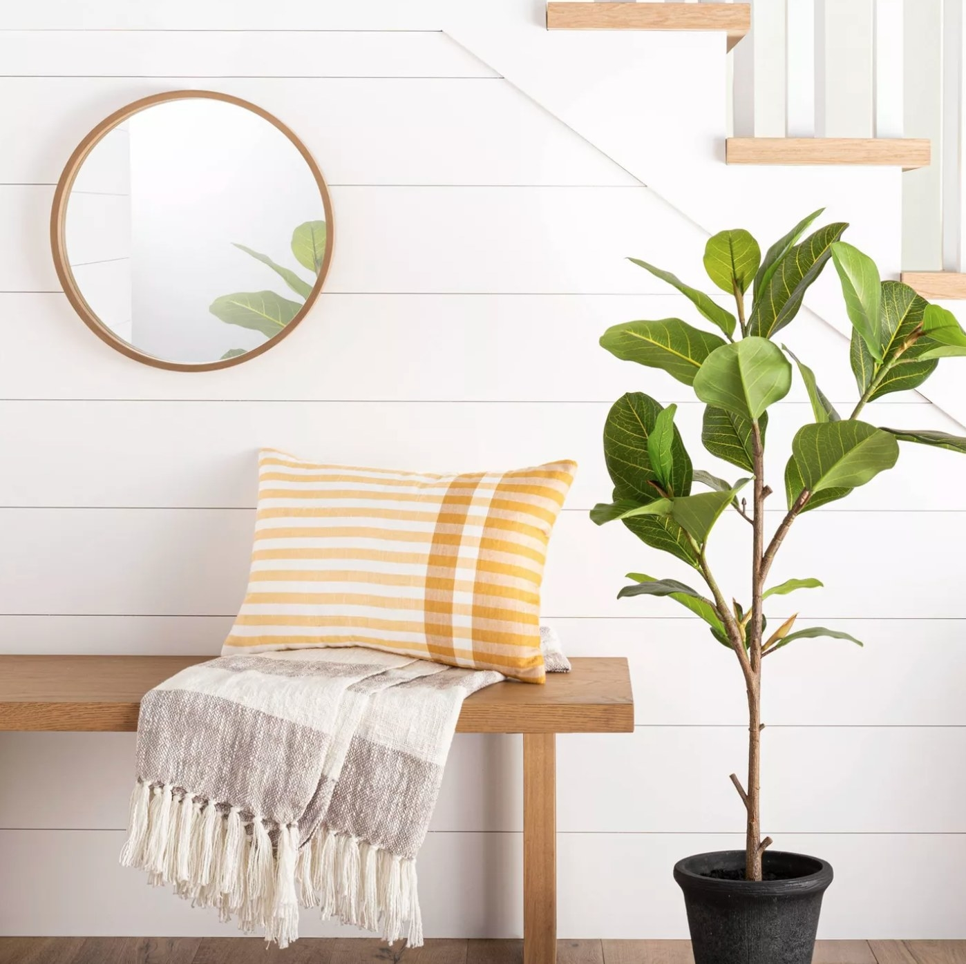 The faux ficus tree