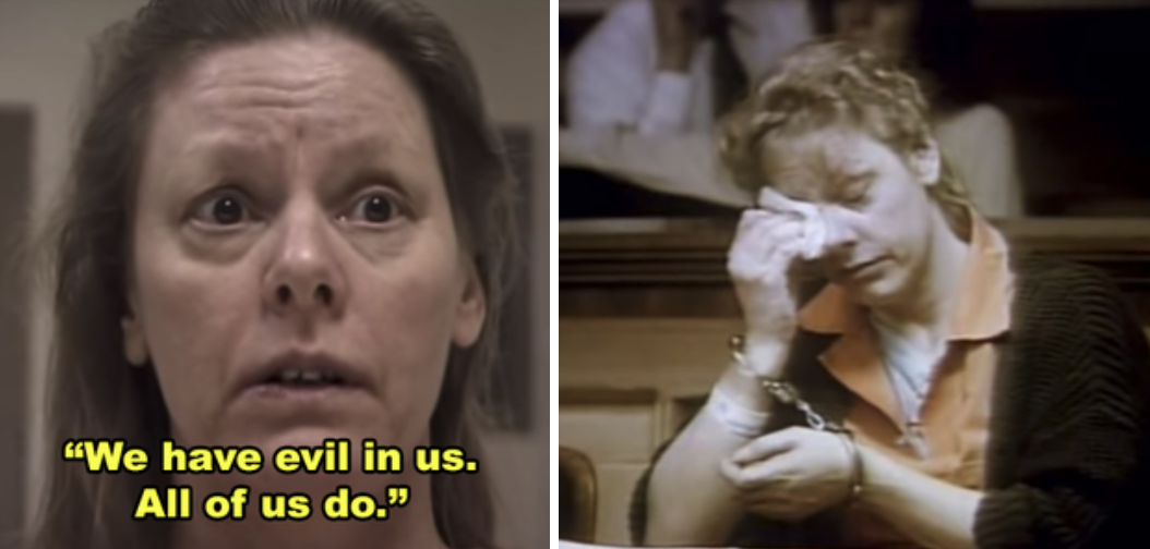 AIleen Wuornos during her trial