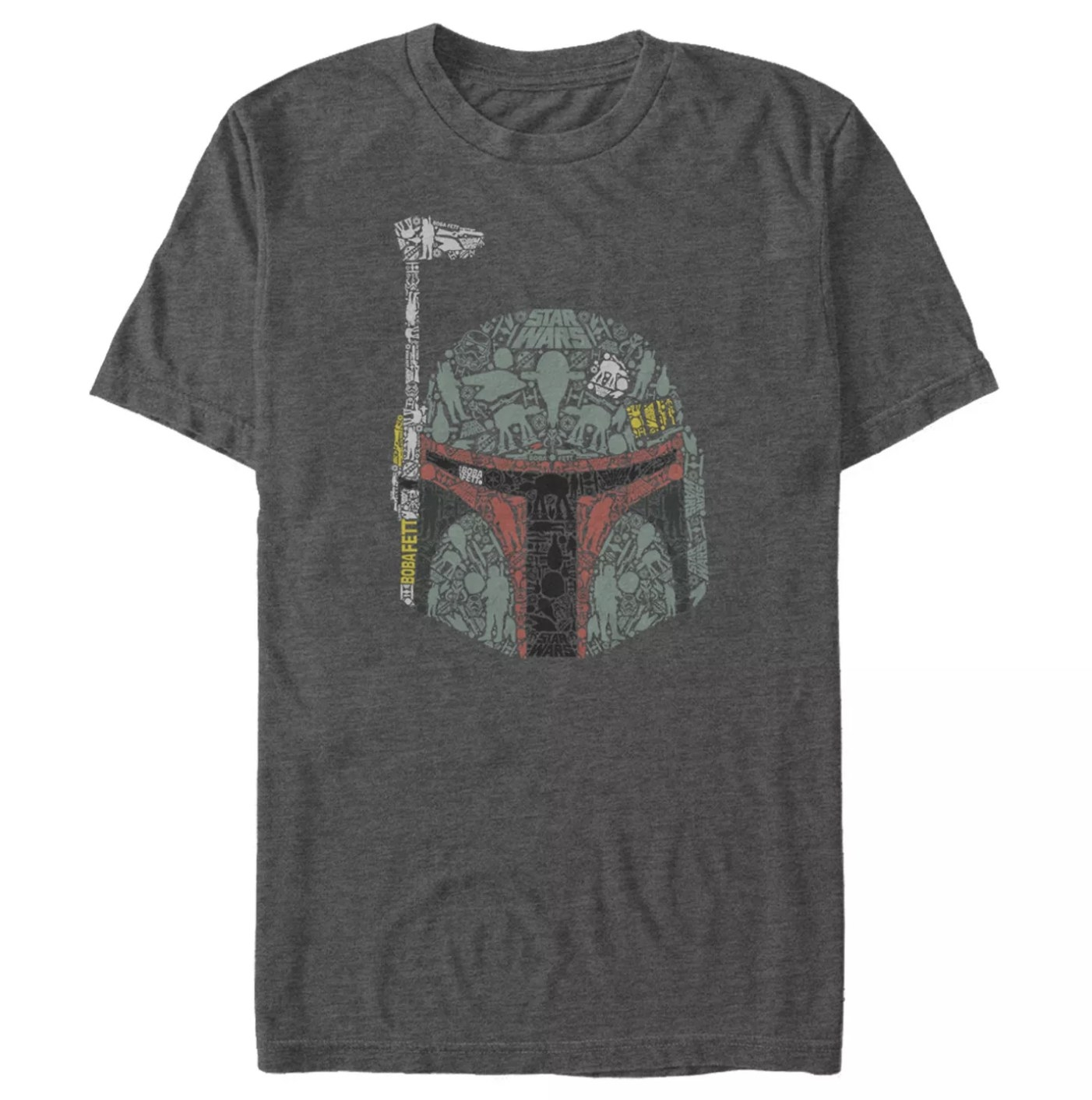 A Star Wars Boba Fett shirt