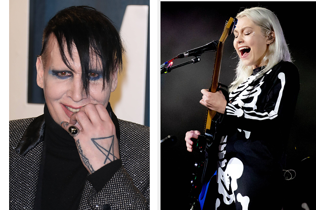 Phoebe Bridgers Shared Her Experience Of Going To Marilyn Manson's House As A Teenager - BuzzFeed