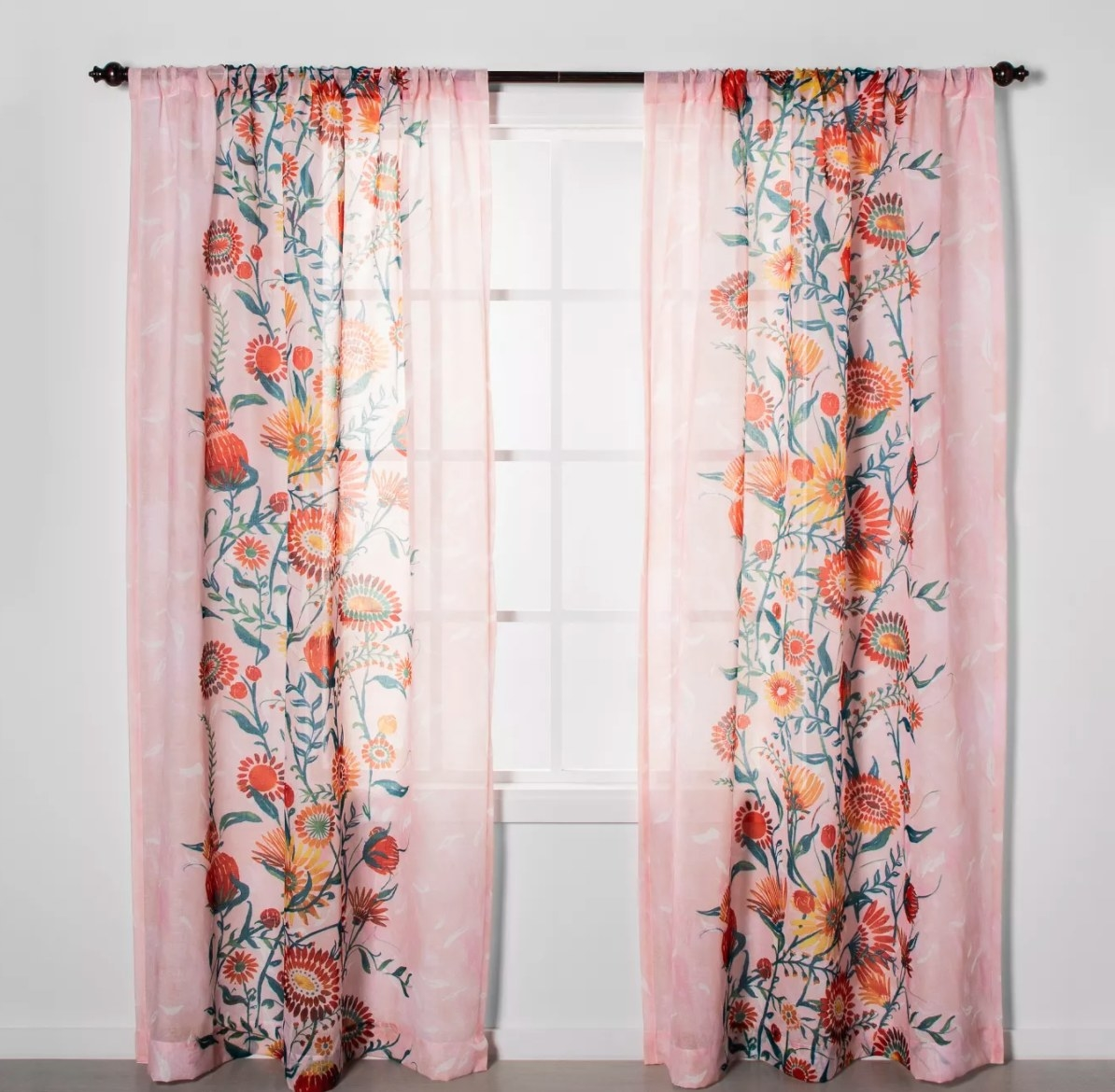 The curtains