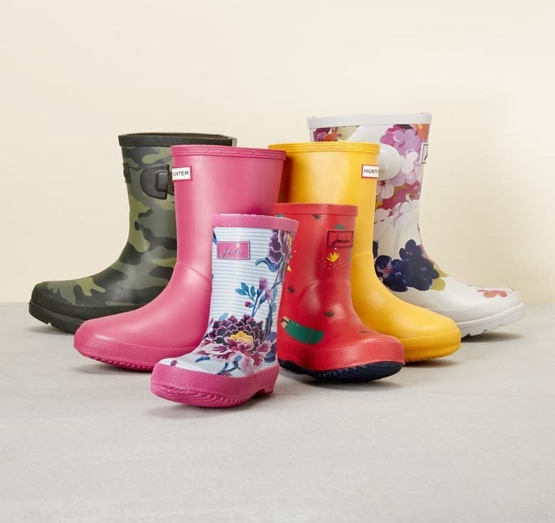 The boots in a variety of colors