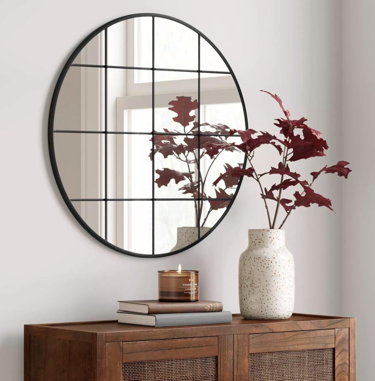 The window-pane mirror