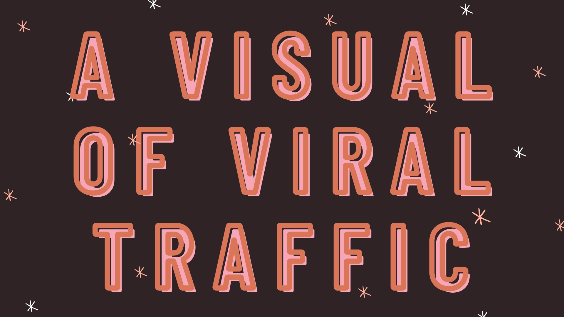 a visual of viral traffic