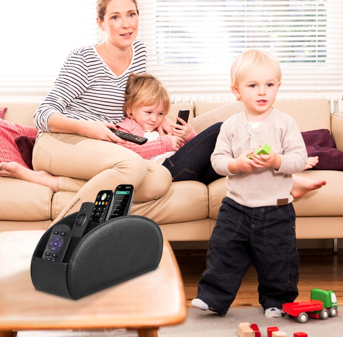 The multi-remote control holder
