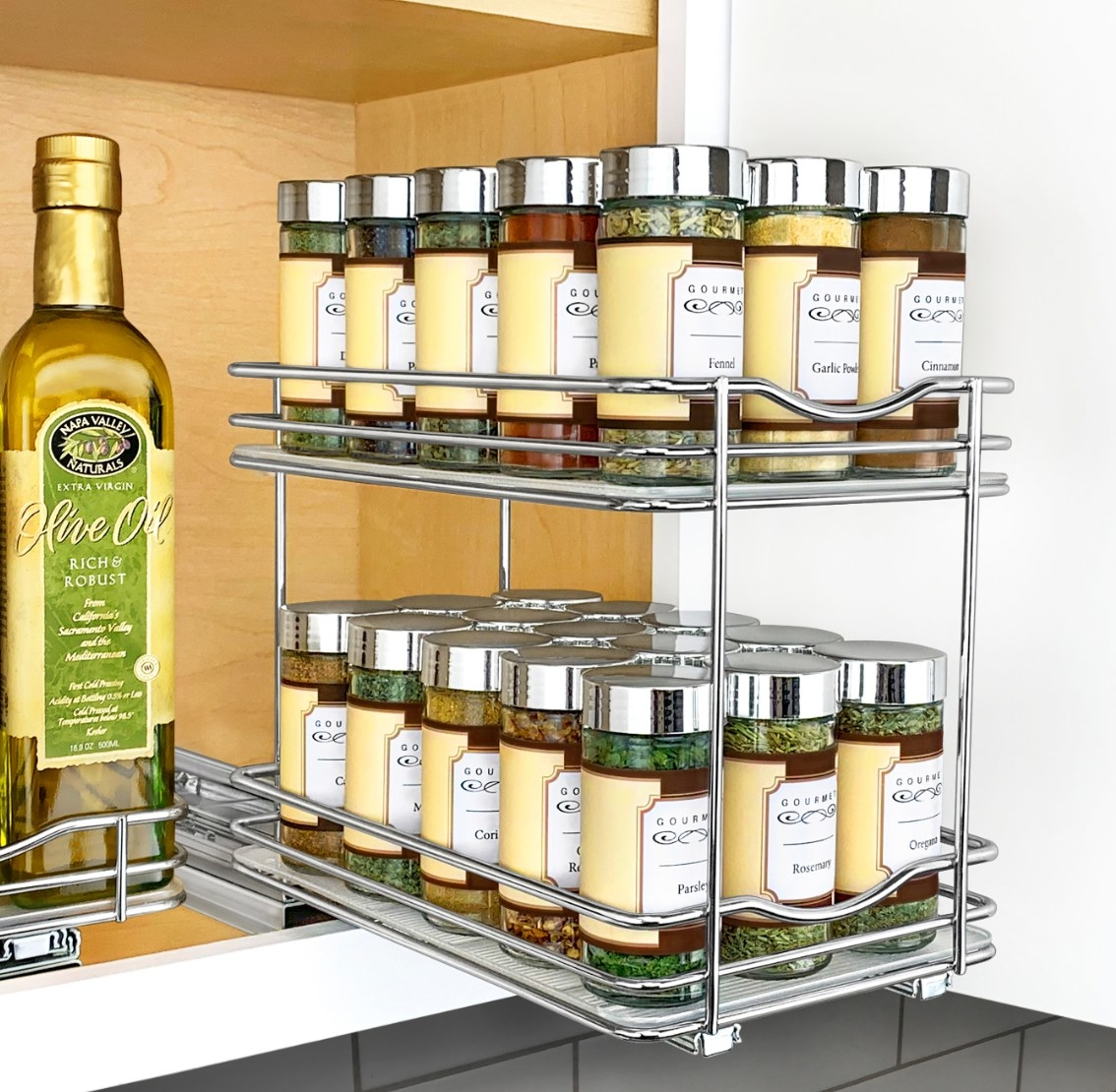 The double spice rack