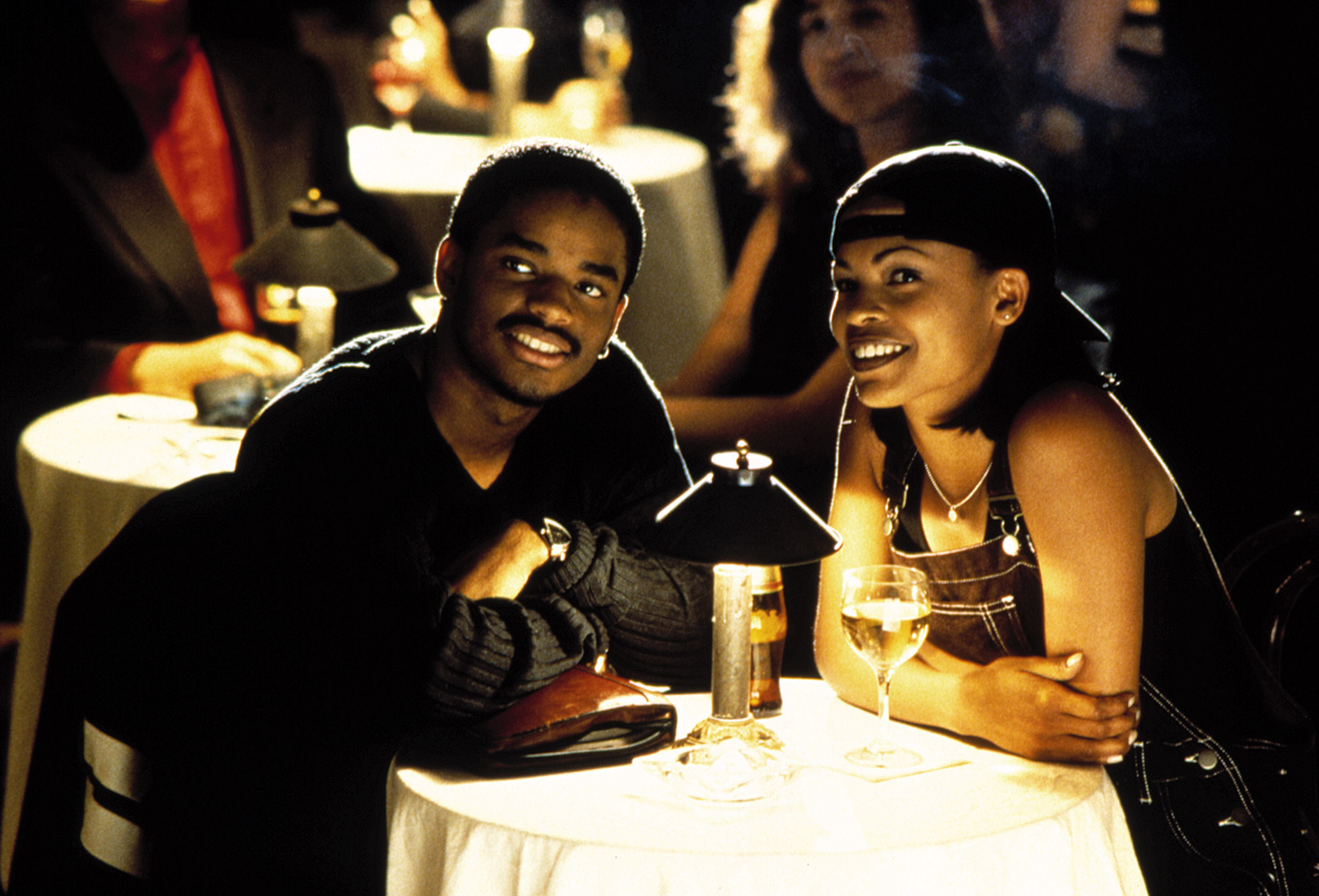 """Larenz Tate and Nia Long in """"Love Jones"""""""