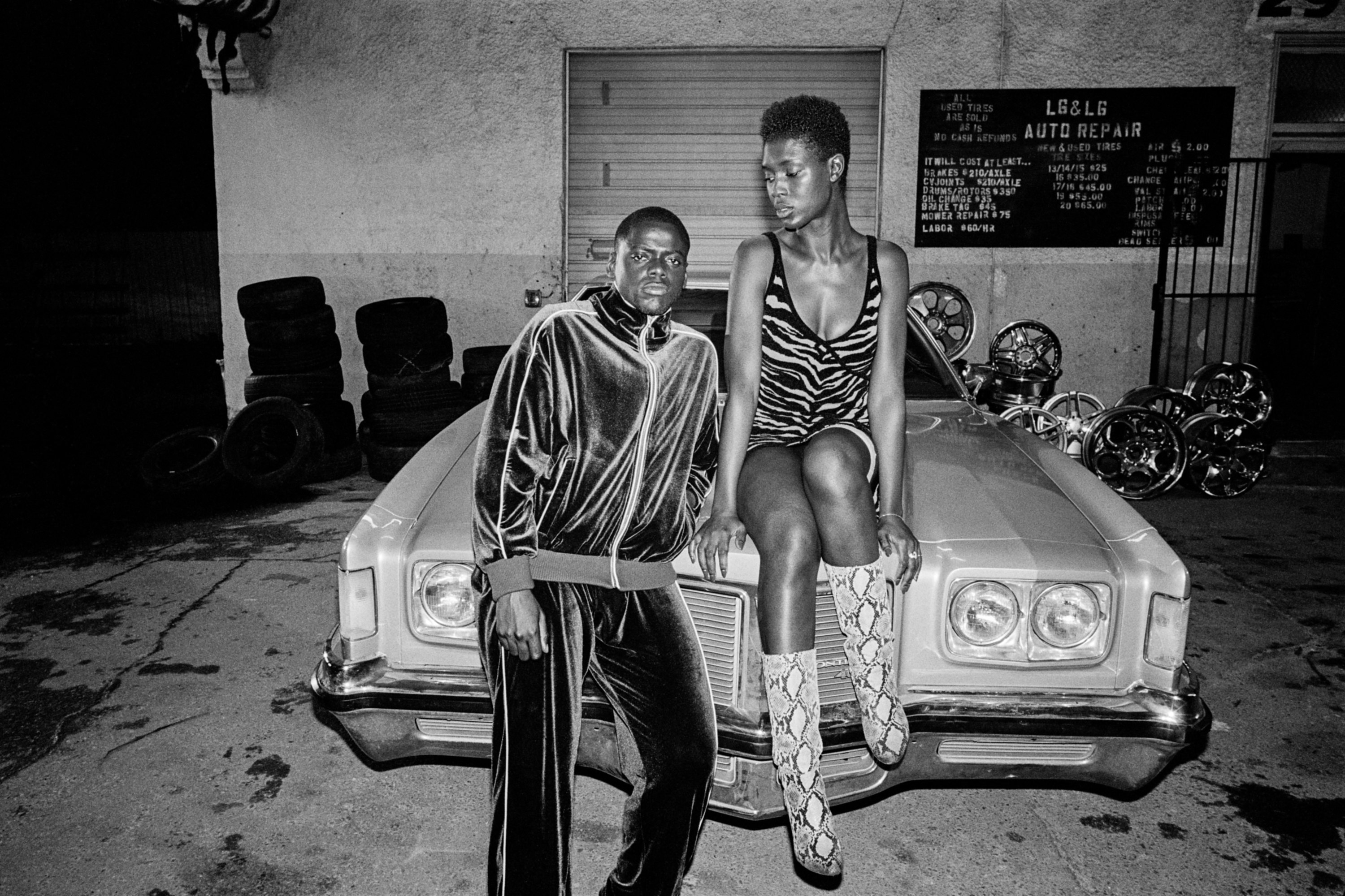 """Daniel Kaluuya and Jodie Turner-Smith from """"Queen & Slim"""""""