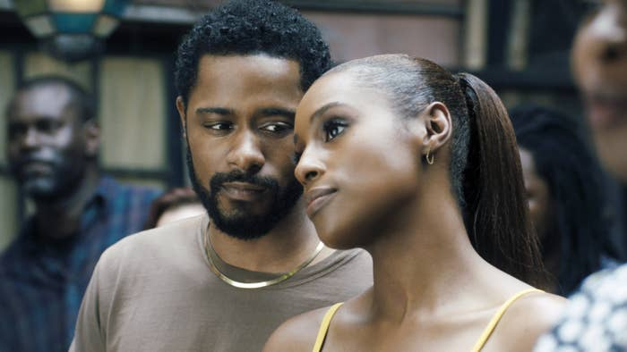 """LaKeith Stanfield and Issa Rae in """"The Photograph"""""""