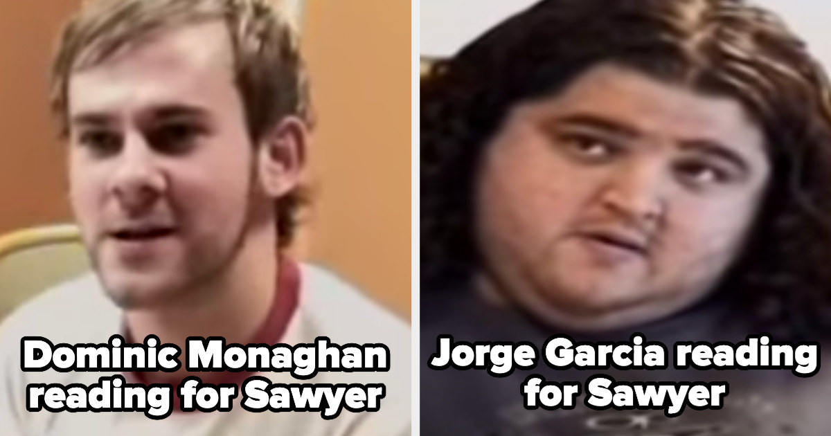 Dominic and Jorge reading for Sawyer in their audition tapes