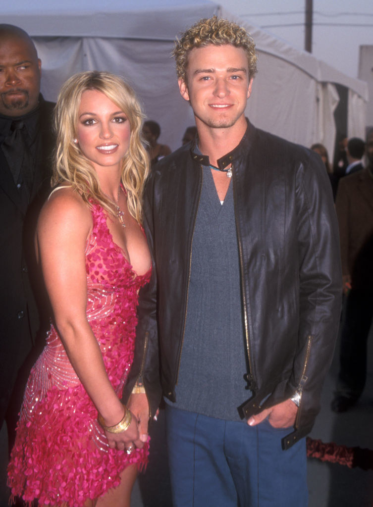 Britney and Justin during their relationship