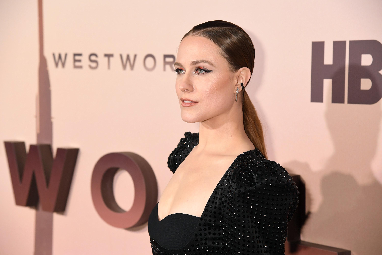"Evan Rachel Wood at a ""Westworld"" event"