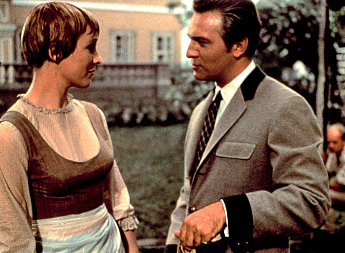 """Julie Andrews and Christopher Plummer in """"Sound of Music"""""""