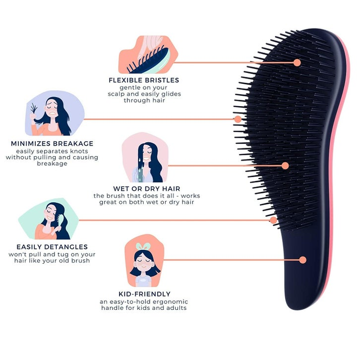 Diagram of the brush and its features