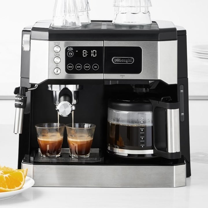 DeLonghi All in One Combination Coffee Maker