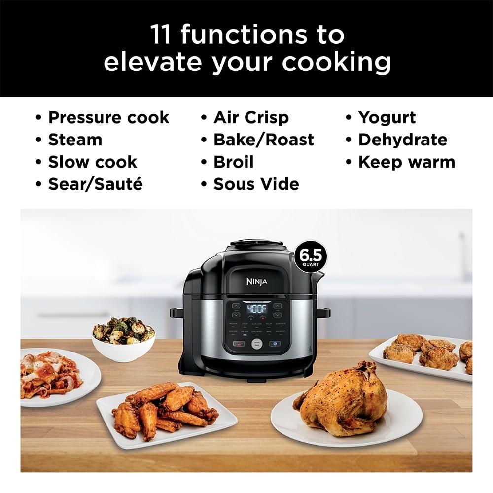 Ninja® Foodi® 11-in-1 6.5-qt Pro Pressure Cooker + Air Fryer