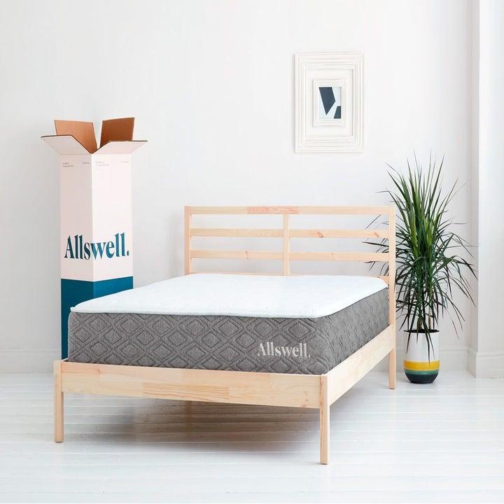 queen-sized mattress