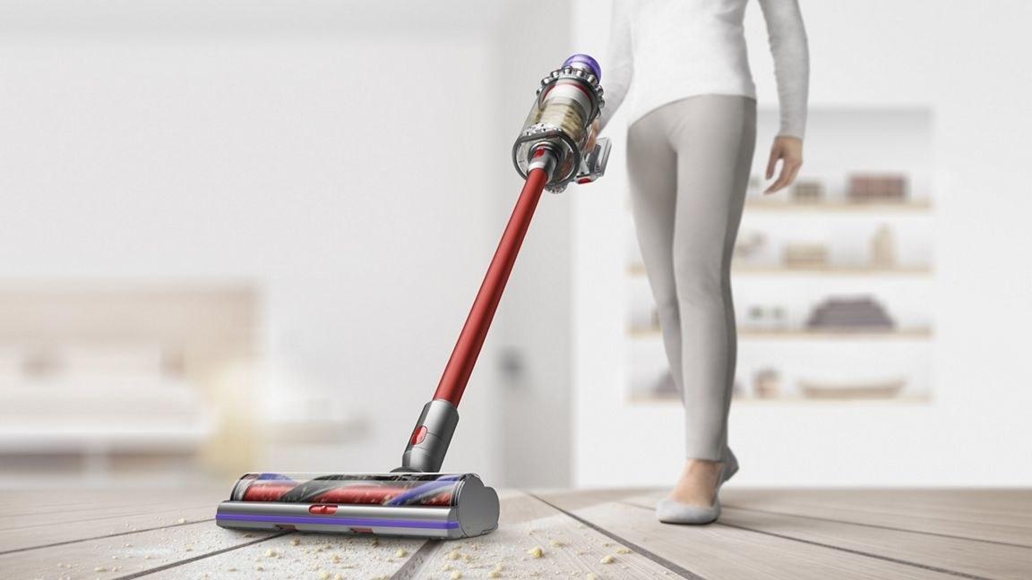 the cordless vacuum