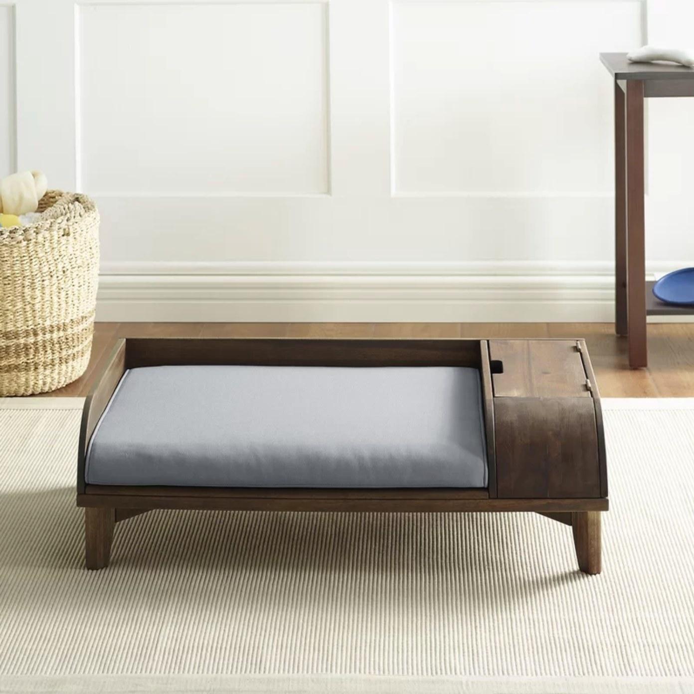 The dog sofa with storage