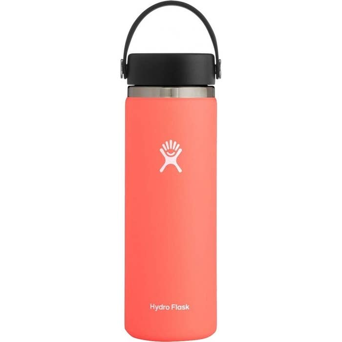 The water bottle in the color Hibiscus