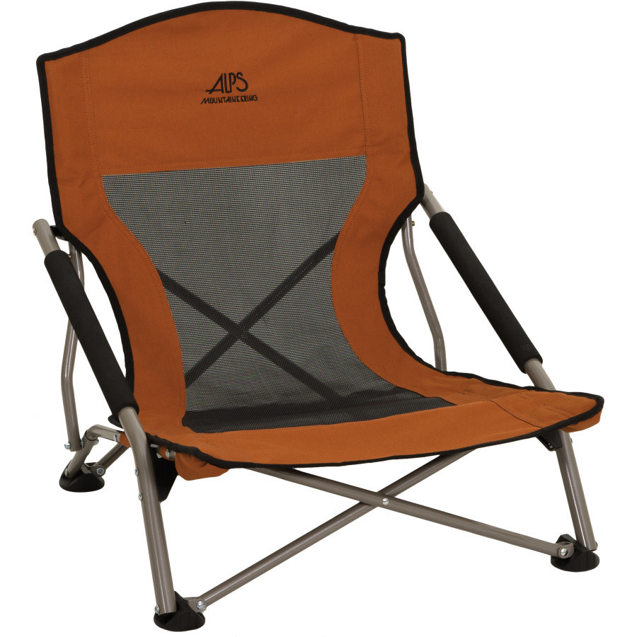 The camping chair in the color Rust
