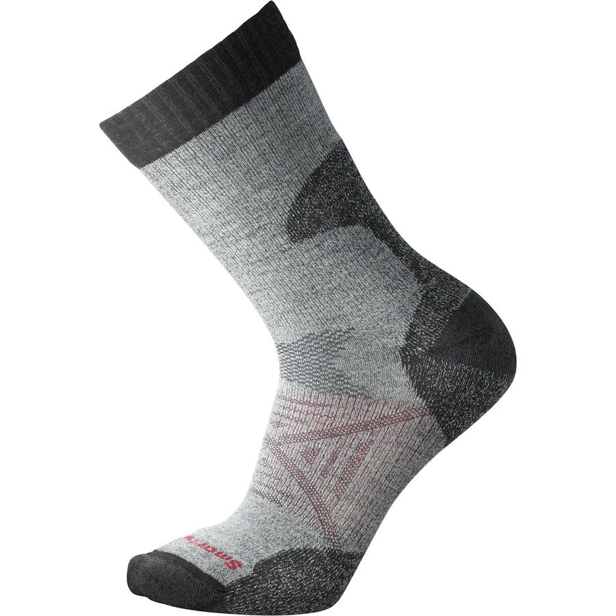 The socks in the color Medium Gray