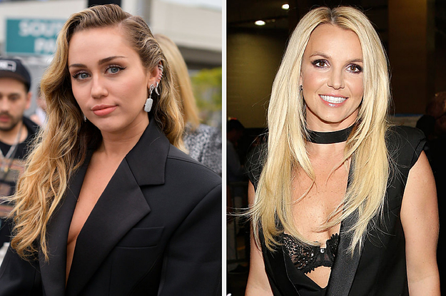 Miley Cyrus Gave Britney Spears A Sweet Shout Out At Her Super Bowl Pregame Performance - BuzzFeed