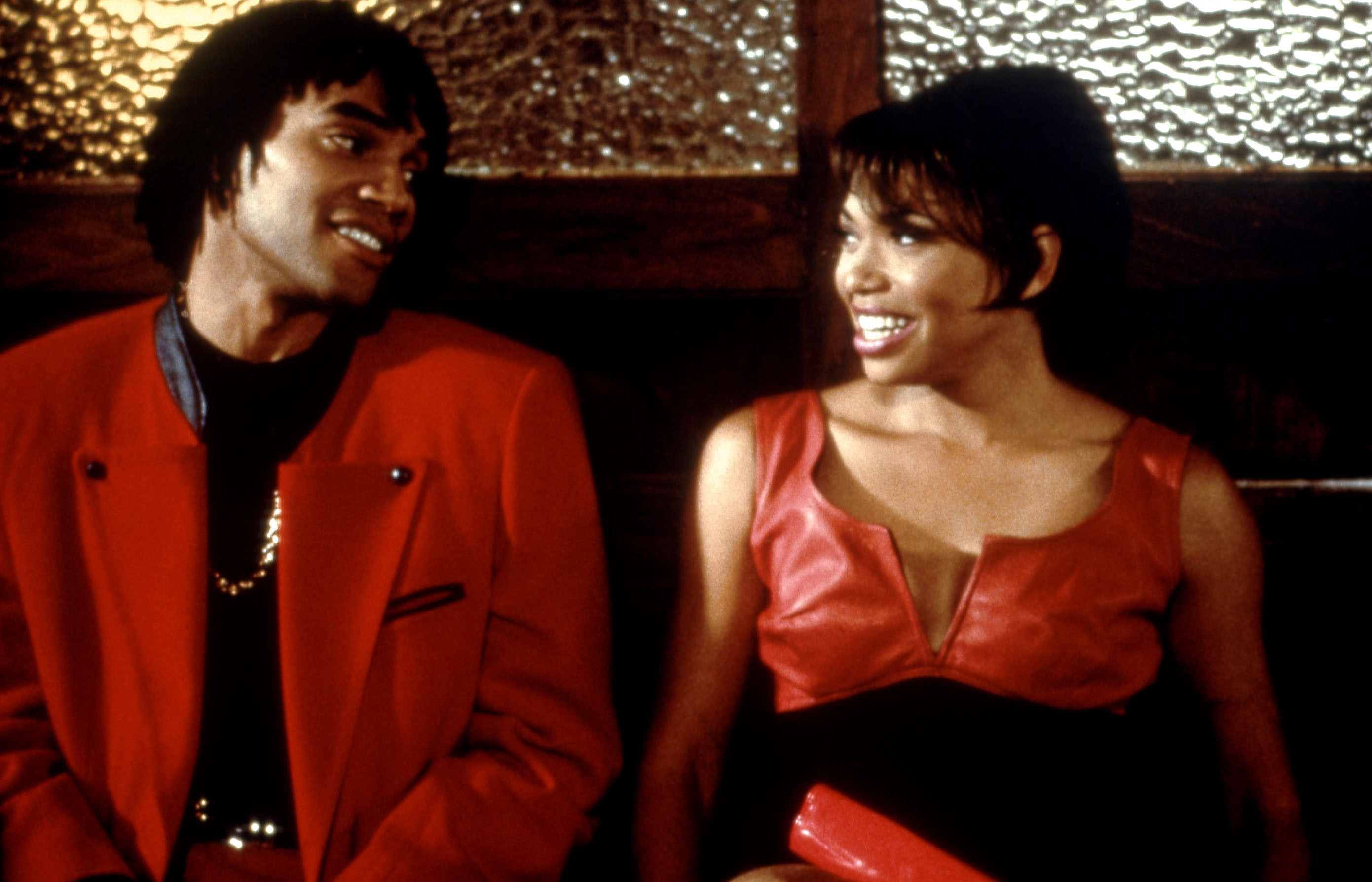 """Rusty Cundieff  and Tisha Campbell in """"Sprung"""""""