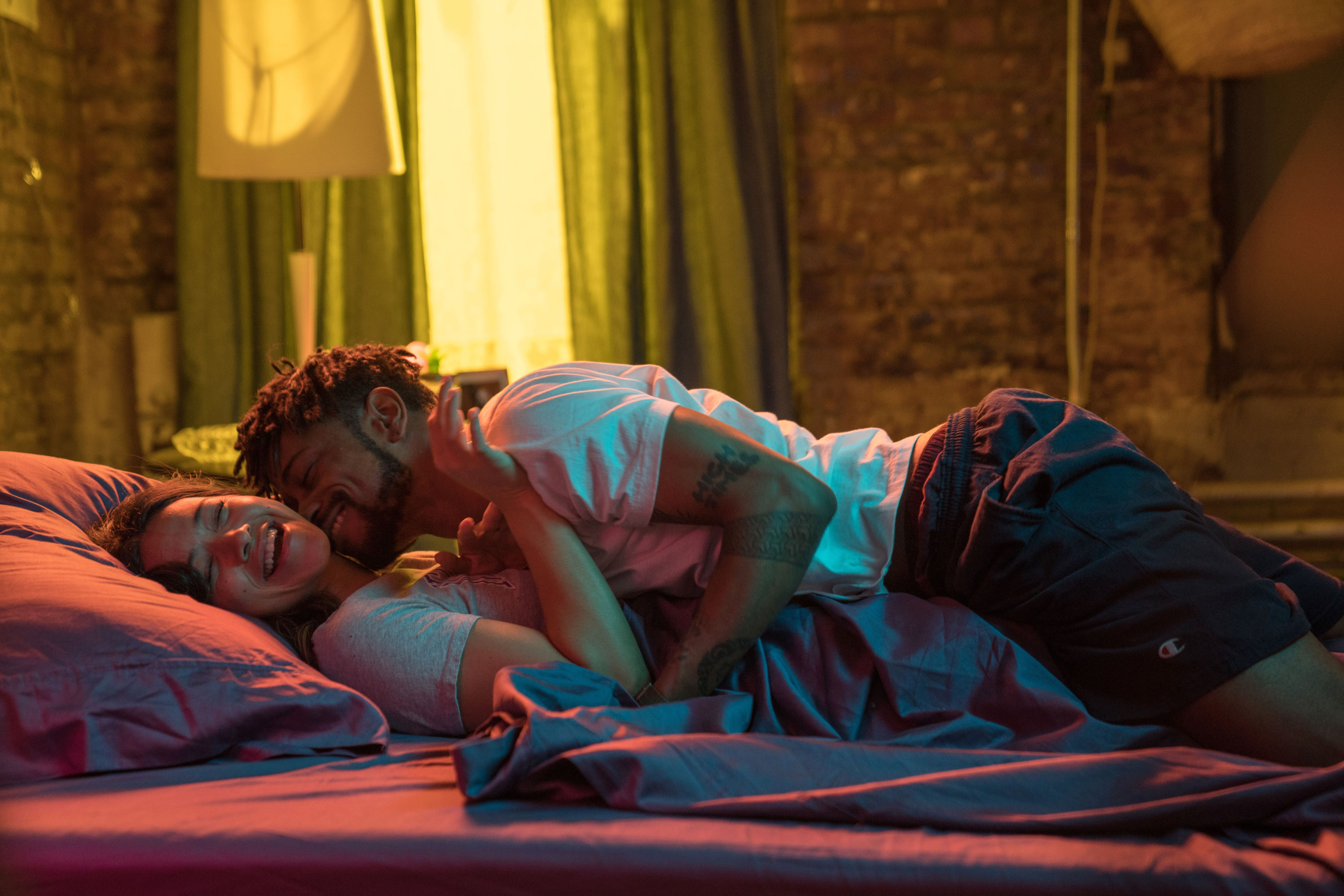 """Gina Rodrigues and LaKeith Stanfield in """"Someone Great"""""""