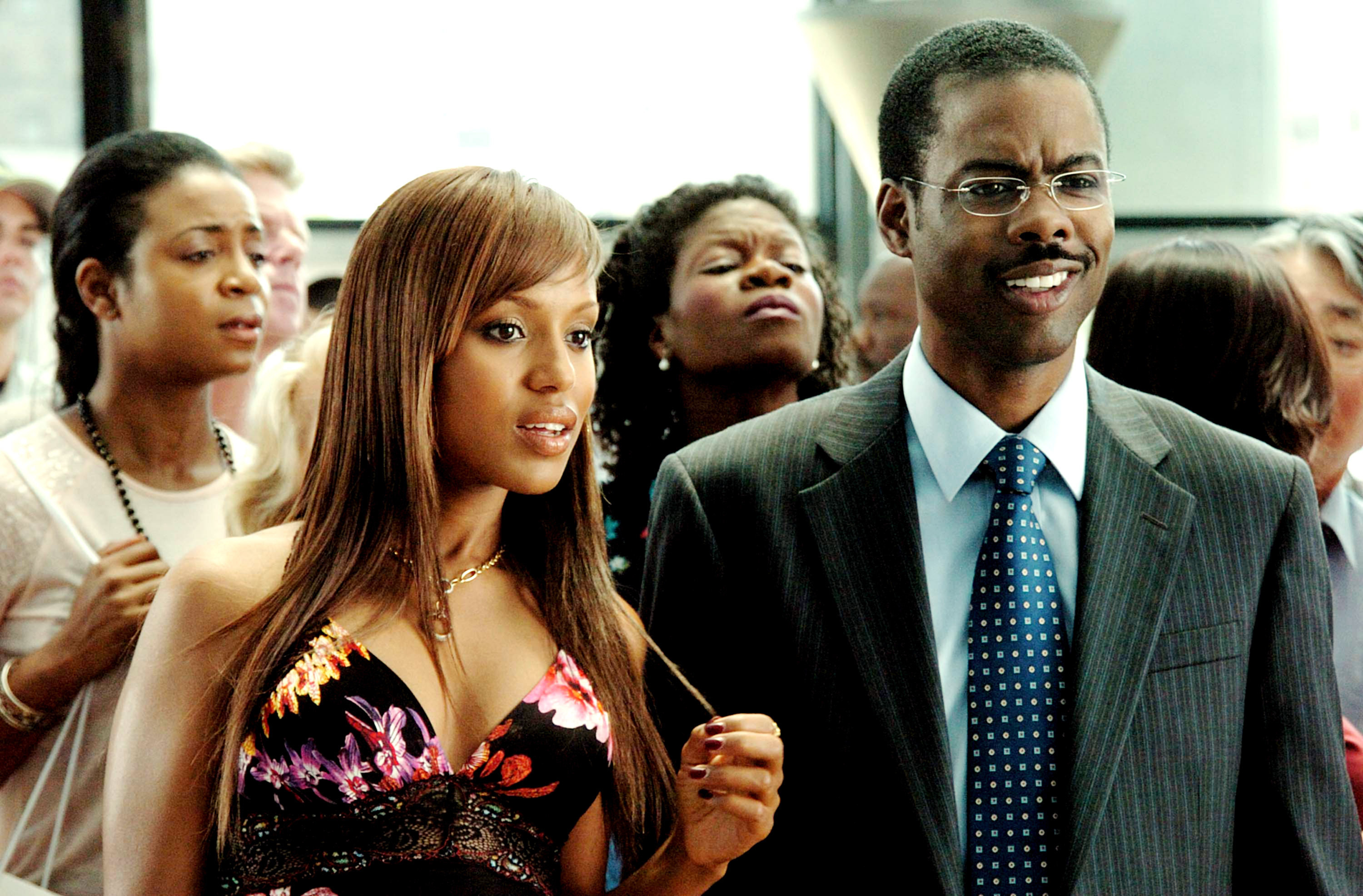"""Kerry Washington and Chris Rock in """"I Think I Love My Wife"""""""