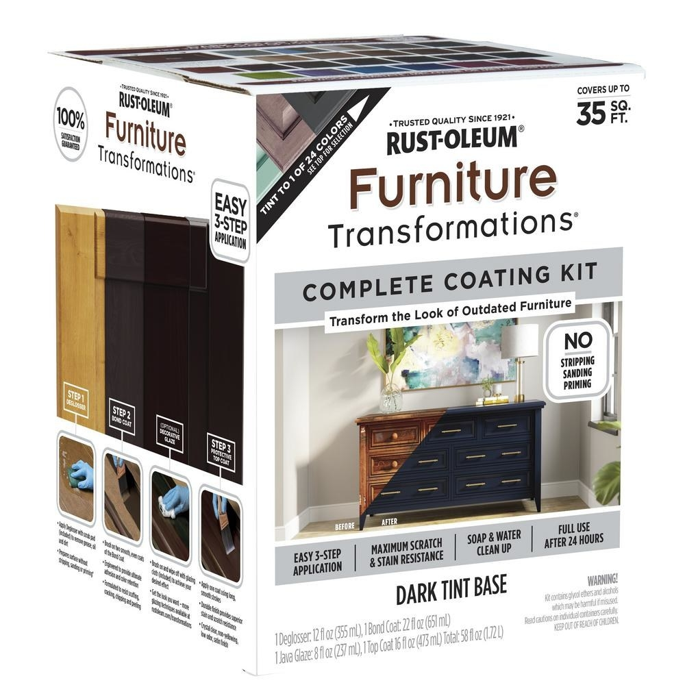 box packaging for rust-oleum transformation kit