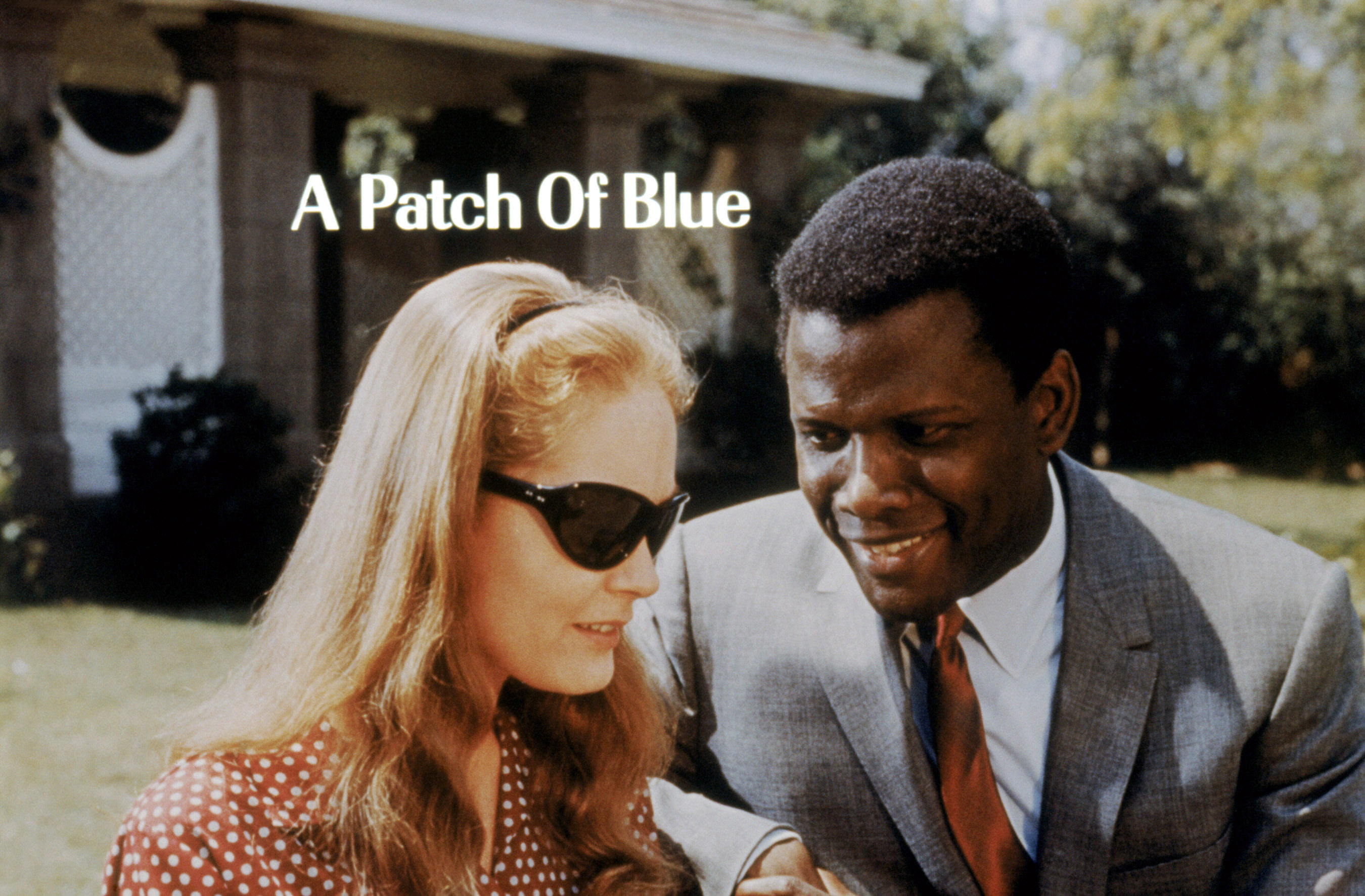 """Elizabeth Hartman and Sydney Poitier in """"A Patch of Blue"""""""