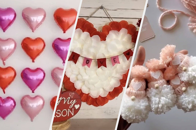 You'll Fall In Love With These Valentine's DIY Decor Ideas