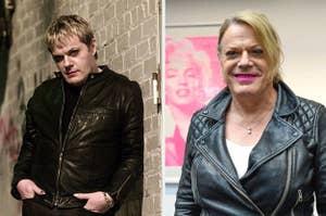 eddie izzard then and now