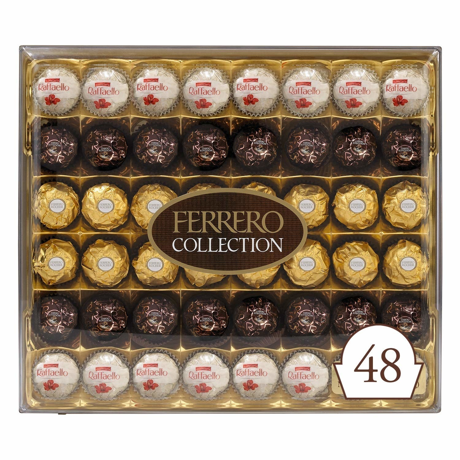 The 48-piece Ferrero Rocher Collection variety pack