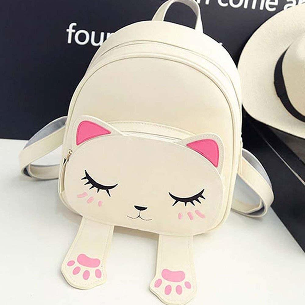 A mini cat bag on a table