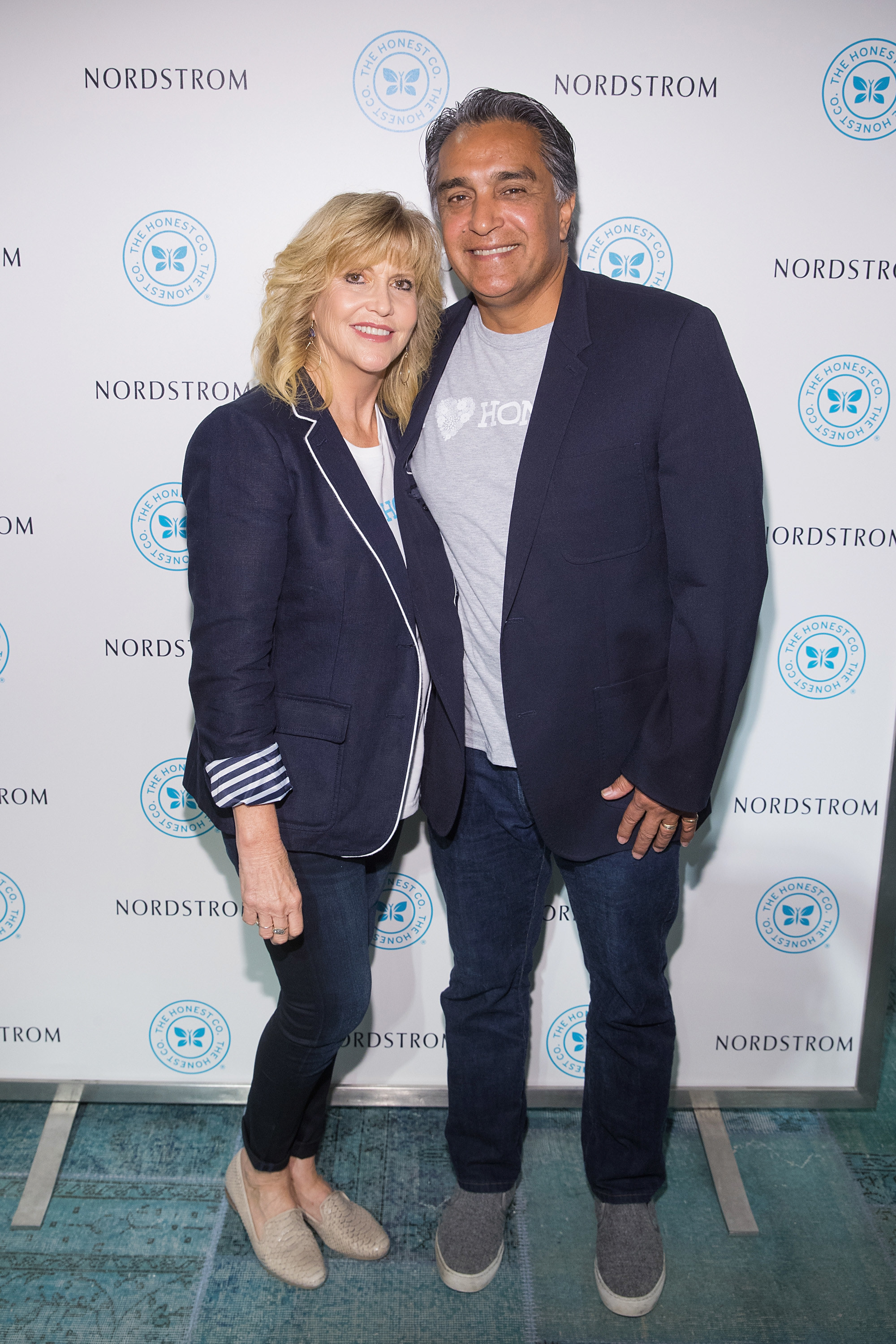 Jessica Alba's parents Catherine and Mark at an event for her company The Honest Company