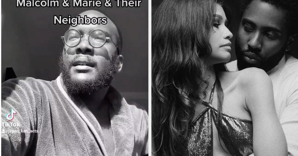 This Guy Made A TikTok From The Perspective Of Malcolm And Marie's Neighbors And It's Hilarious - BuzzFeed