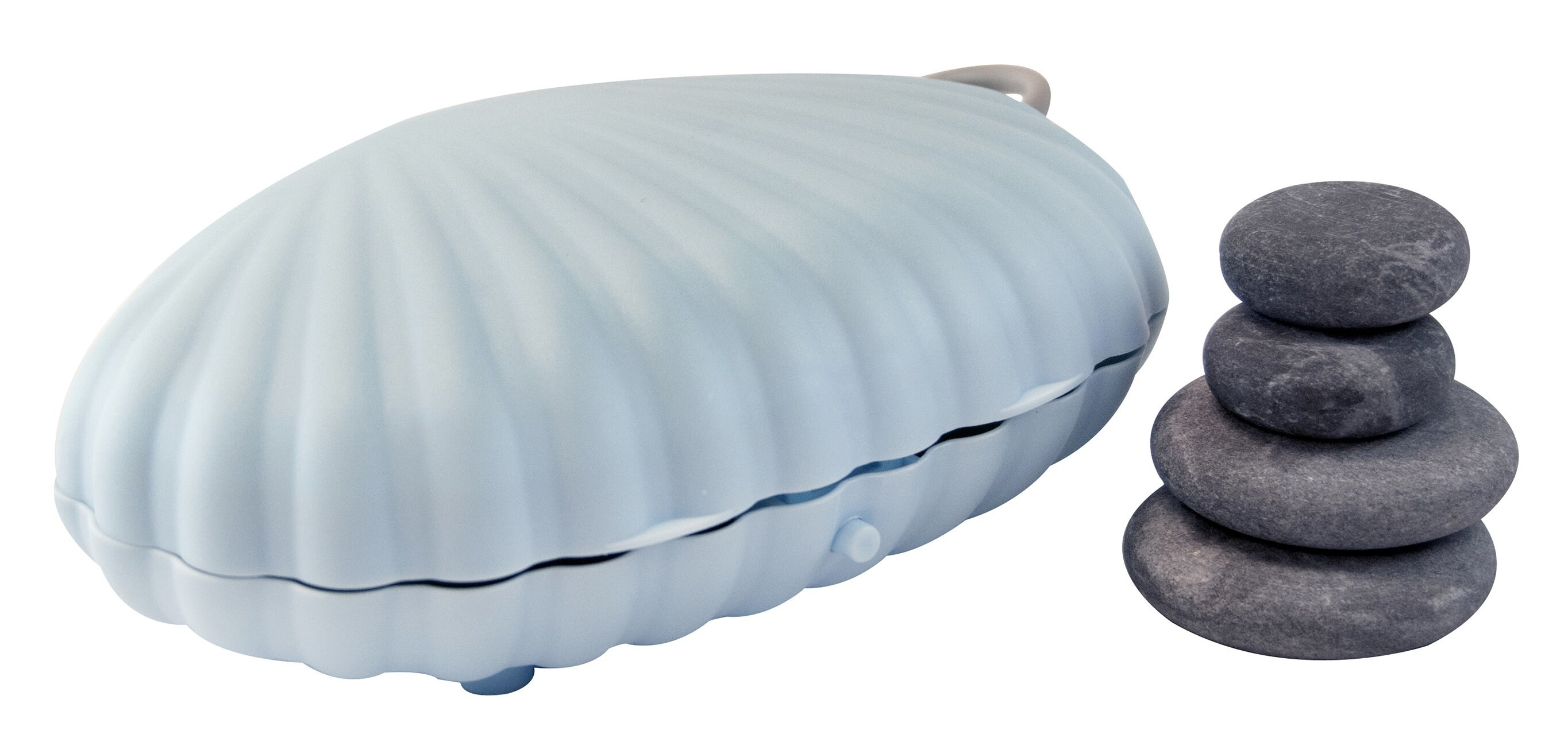 The four-piece stone kit which comes in a clamshell warmer