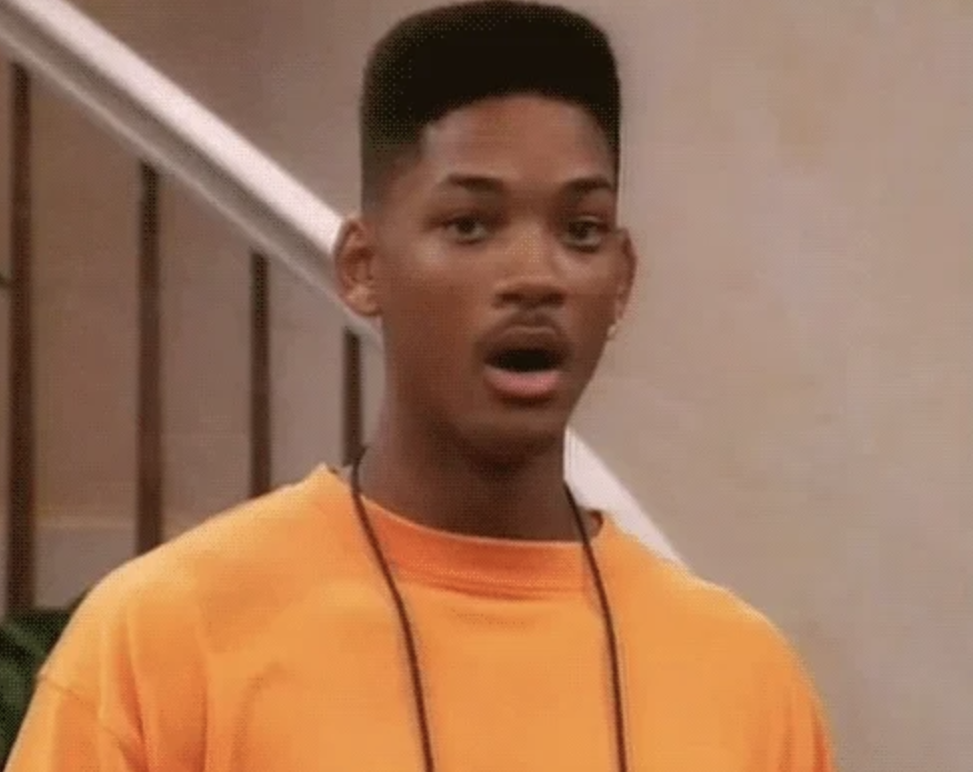 Shocked Will Smith