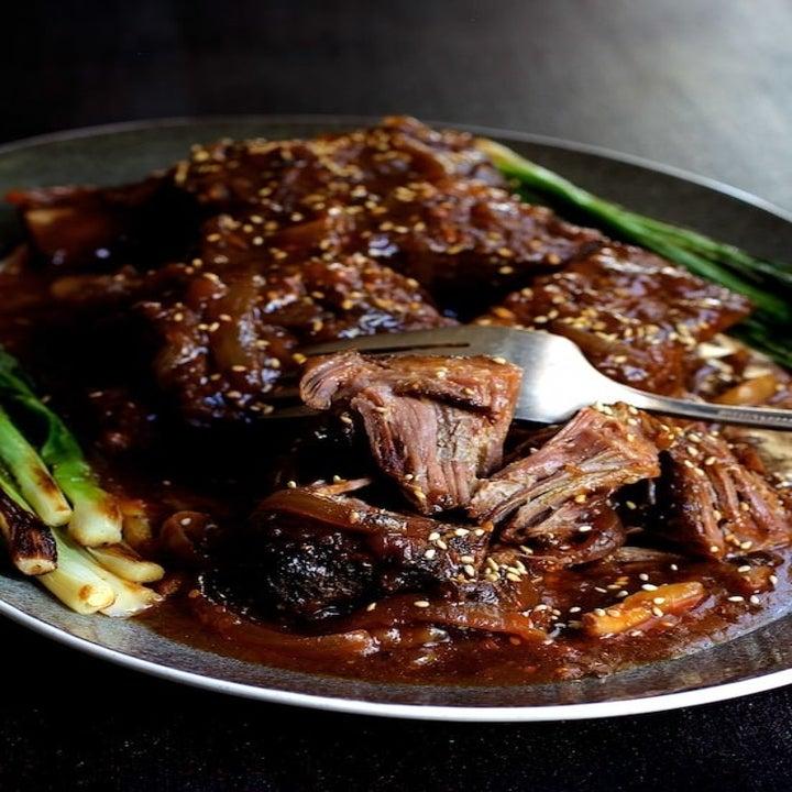 Korean short ribs.
